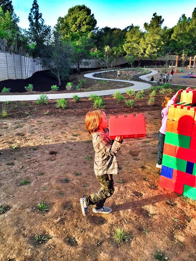 Kids Playing at Adventure Playground in Irvine