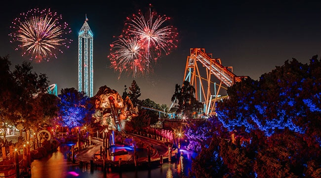 Knott's New Years Eve Celebration
