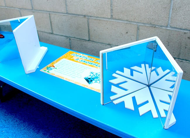 Learning About Snowflakes at Discovery Cube