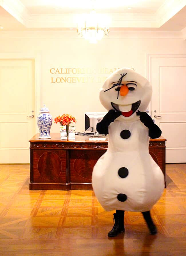 Olaf at the Four Seasons