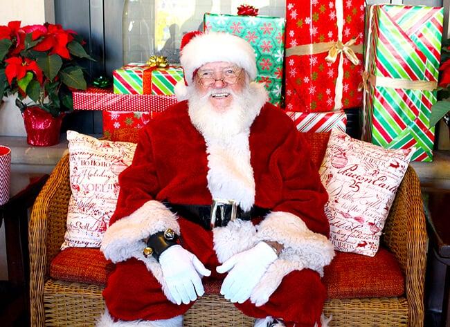 Santa Claus at Catal Restaurant