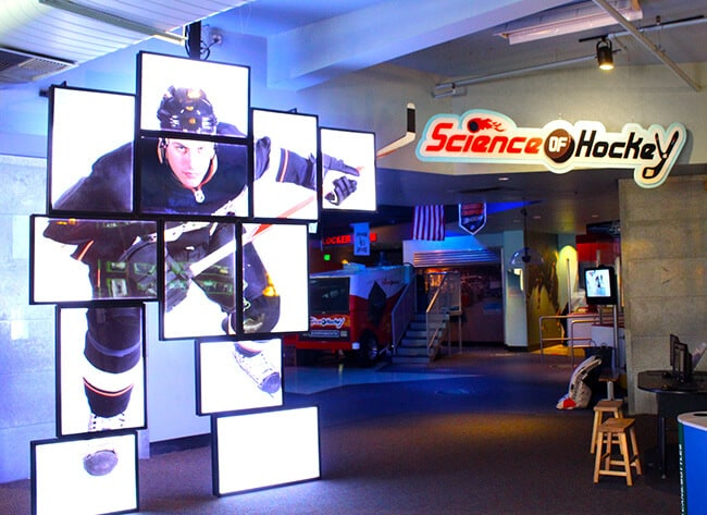 Science of Hockey at Discovery Cube