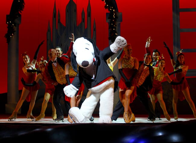 Snoopy on Ice Show