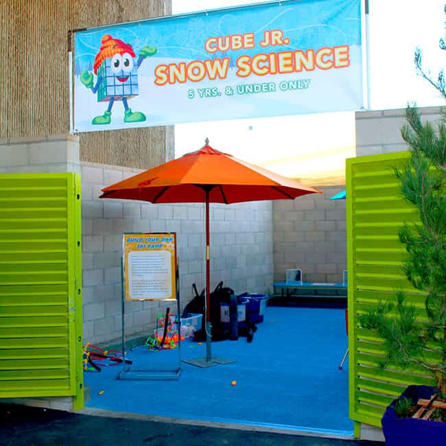 Snow Science Toddler Area