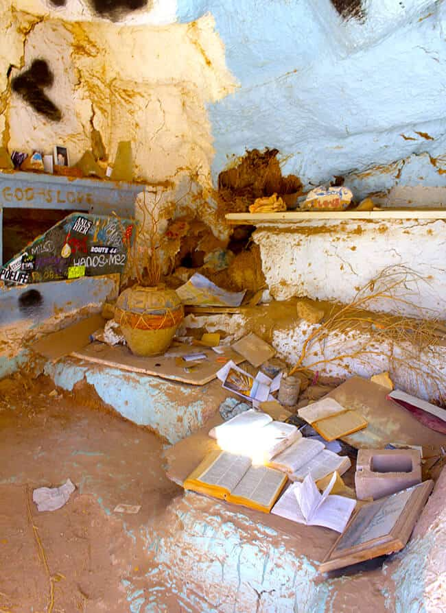 Bible Room at Salvation Mountain