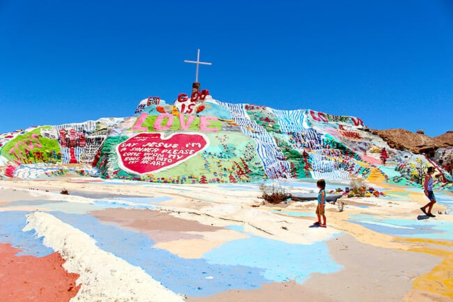 Exploring Salvation Mountain