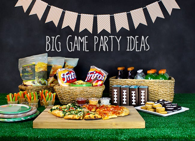 Fun ideas for hosting a kid friendly big game party for Fun blog ideas