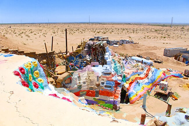 From the Top of Salvation Mountain