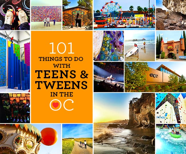 Fun Things to Do With Teens in Orange County