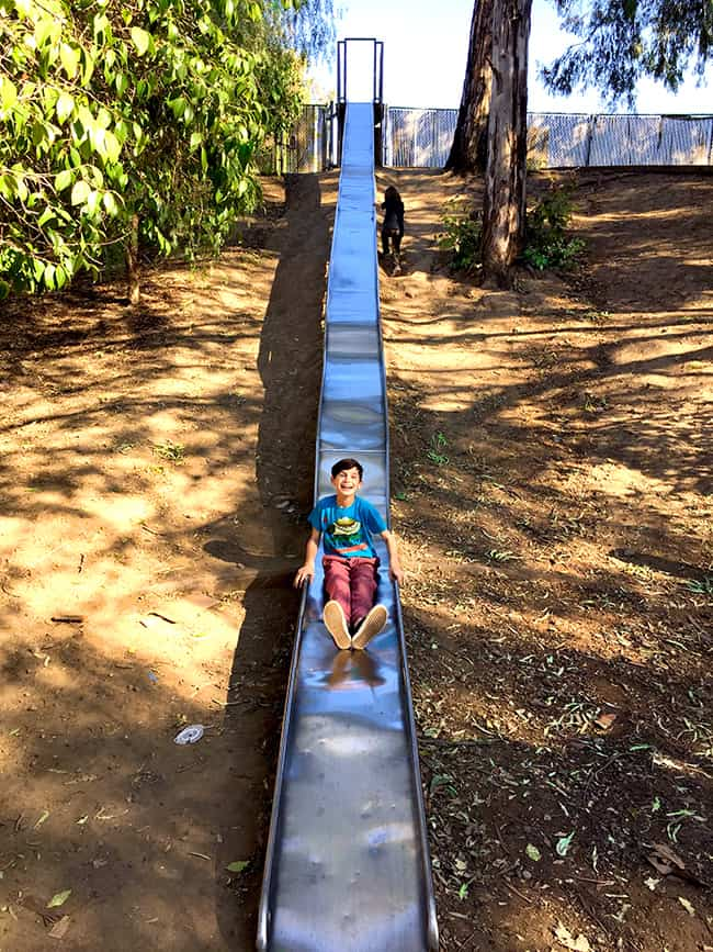 Giant Slides in Santa Ana