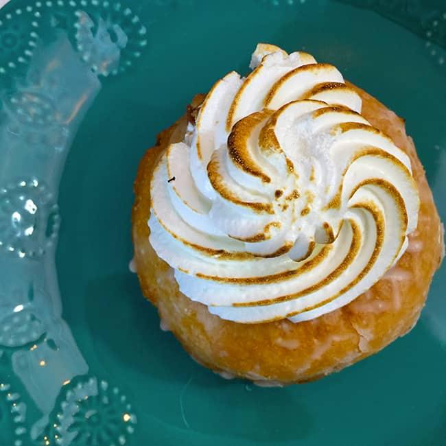 Lemon Meringue Donut
