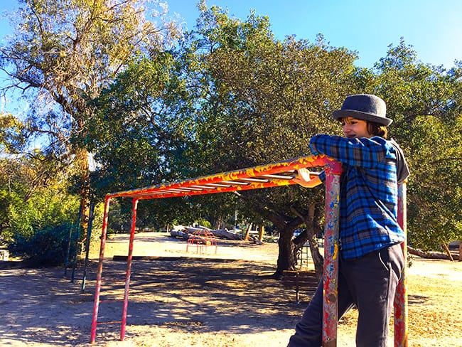 Old School Playground in Orange County