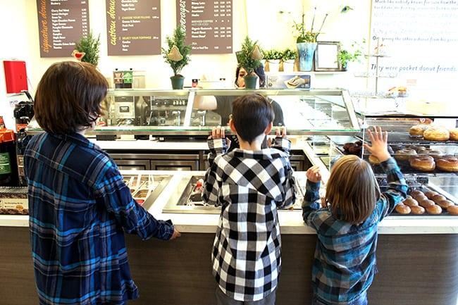 Orange County Donut Store in Irvine