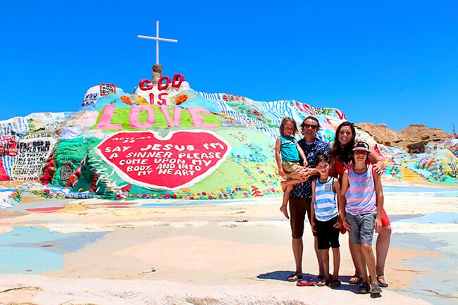 Popsicle Blog at Salvation Mountain