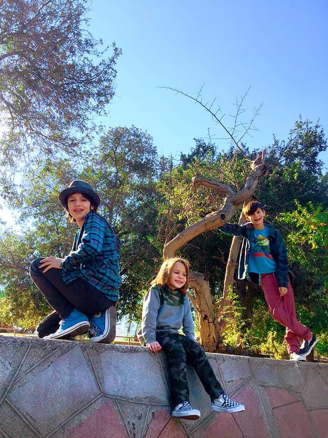 Santiago Park in Santa Ana