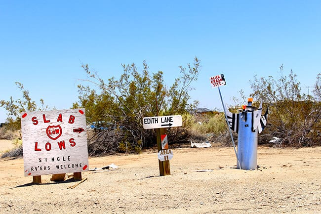 Slab City Photos