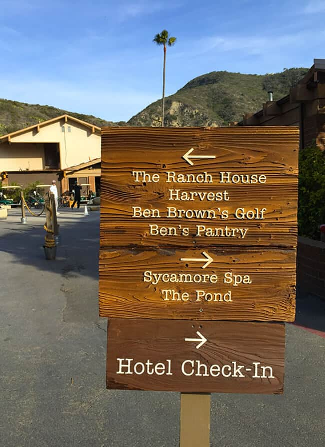 The Ranch at Laguna Beach Hotel Check-in