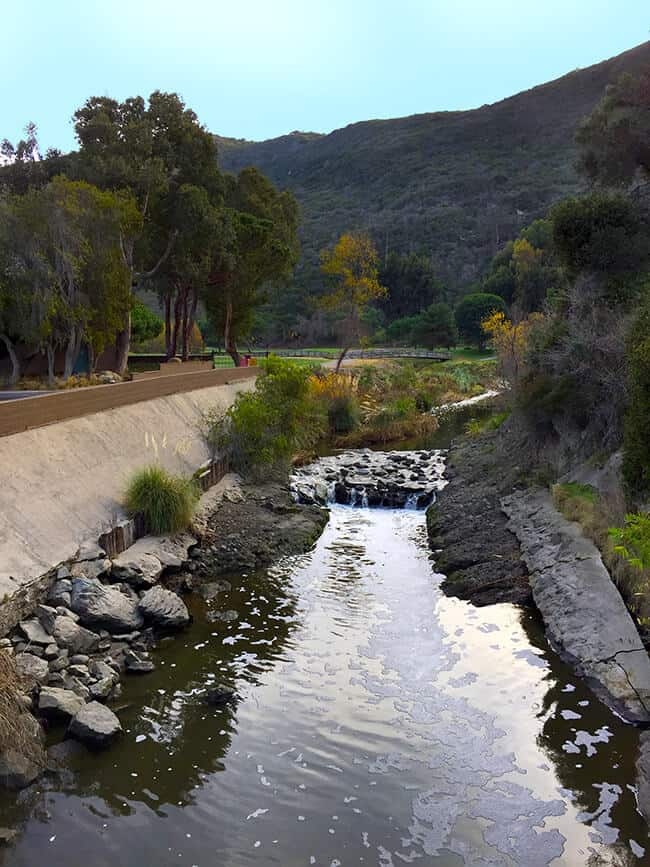 The Ranch at Laguna Beach river