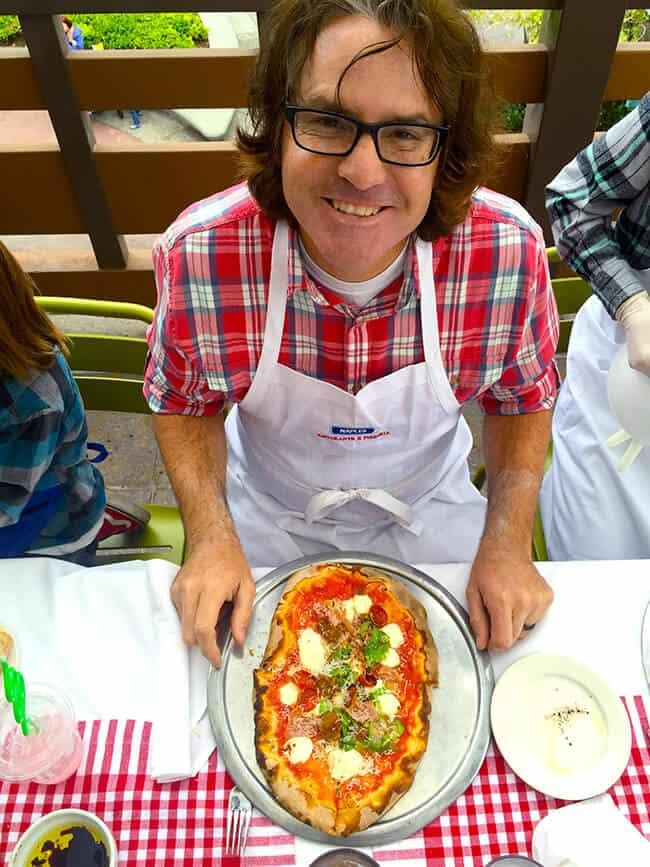 Chad Parkin Making Pizza