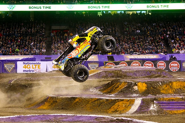 Hot Wheels at Monster Jam