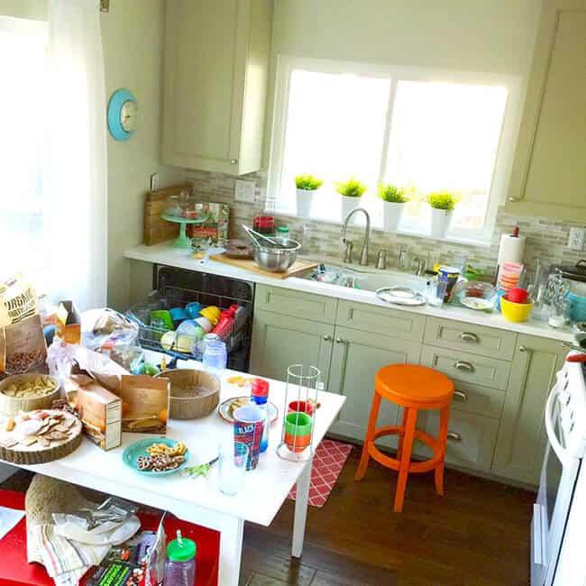 Messy Work Kitchen