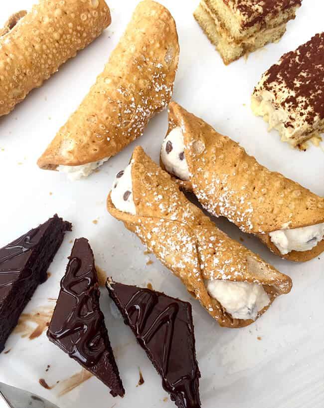 Naples Restaurant Desserts