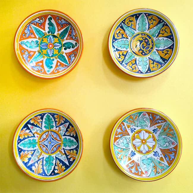 Naples Ristorante Plates