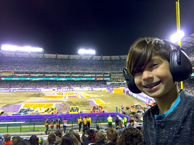 Popsicle Blog Goes to Monster Jam