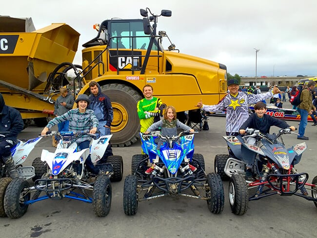Quads at Monster Jam