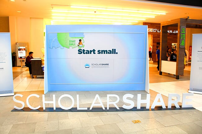 ScholarShare Westfield Mall