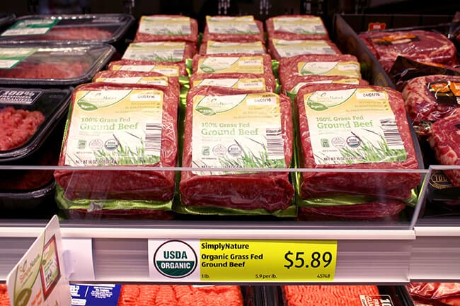 ALDI Grass Fed Beef
