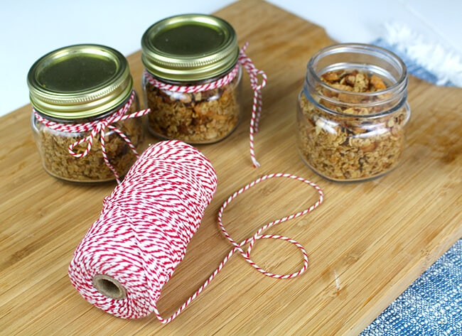 Easy DIY Healthy Granola Gifts