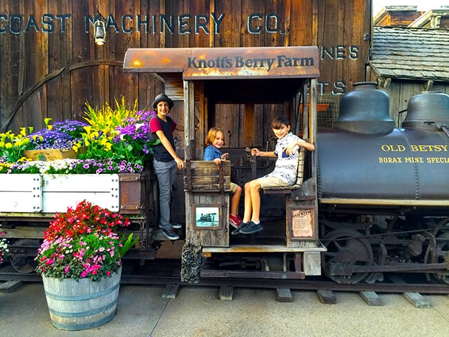 Old Train at Knott's Berry Farm