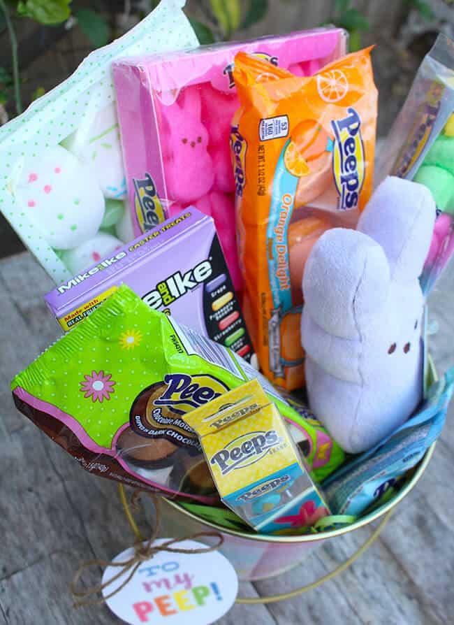 Peeps Gift Basket