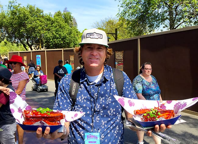Short Ribs at Knott's Berry Farm Boysenberry Festival