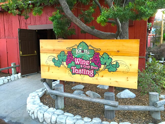 Wine Tasting at Knott's Berry