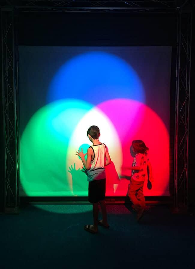 Bubblefest Light Exhibit