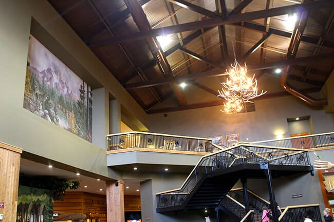 Great Wolf Lodge Staircase