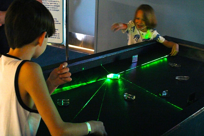 Laser Game at Bubblefest