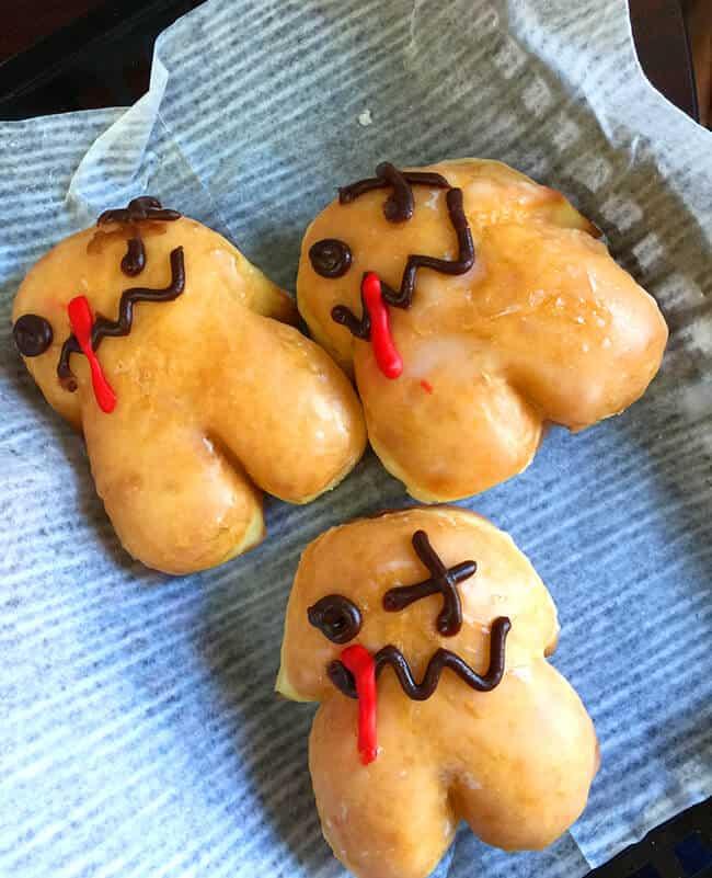 Mini Zombie Donuts