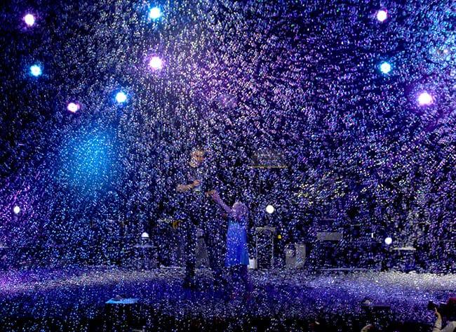 Snowing Bubbles at Bubblefest