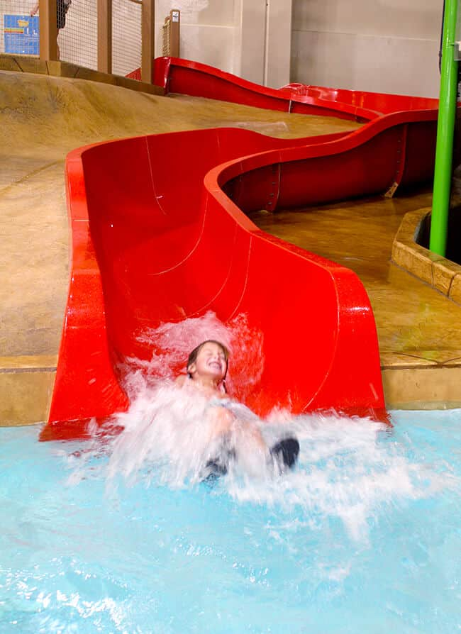 Splashing at the Great Wolf Lodge