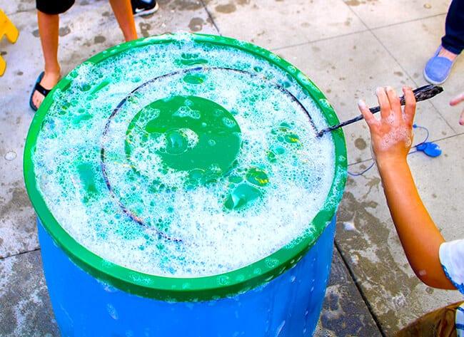 The Best Bubble Solution at Bubblefest