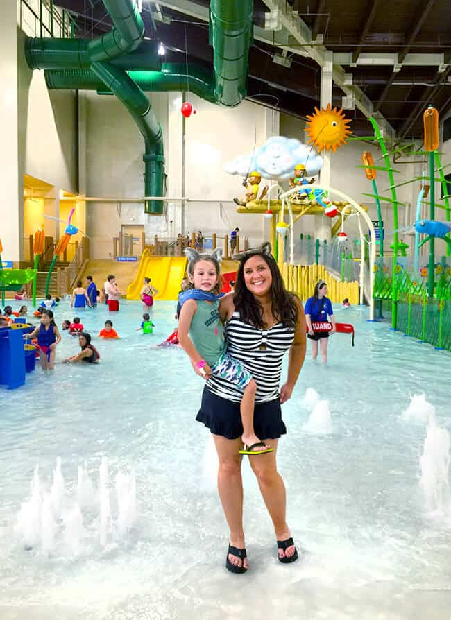 baby water park area at Great Wolf Lodge