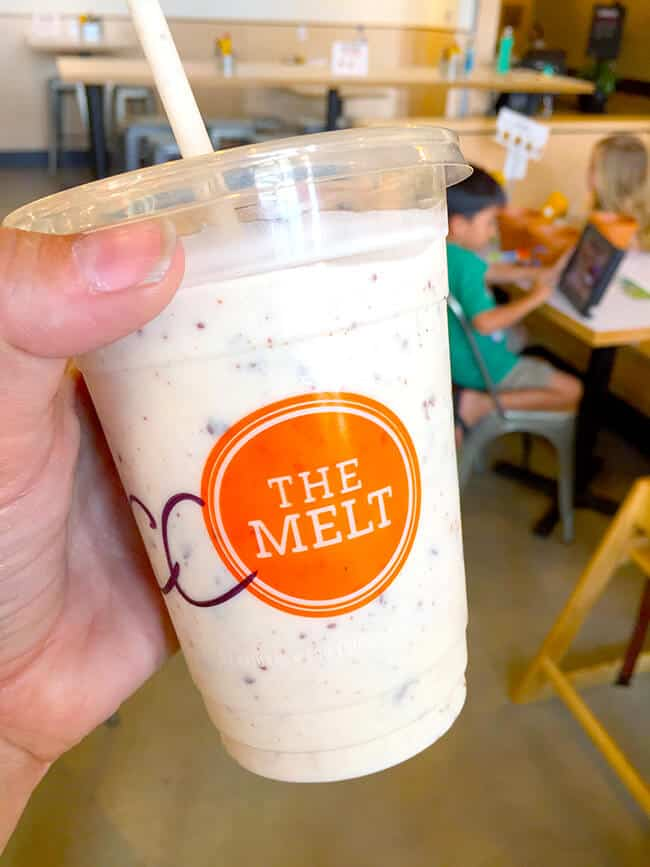 Fresh Ice Cream Shakes at The Melt