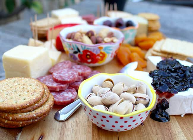 Fruit Nut and Cheese Tray