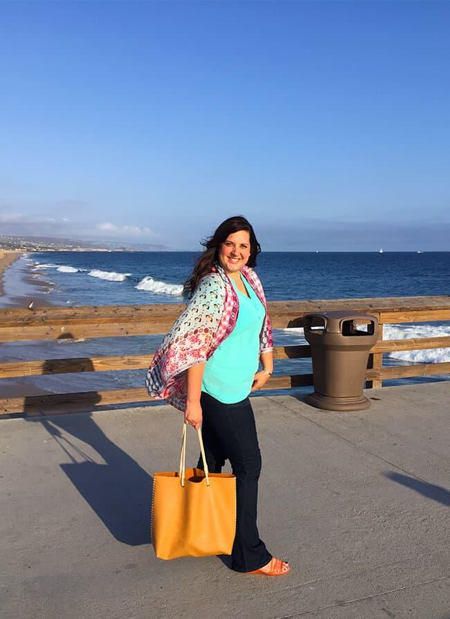 Jill Parkin at Balboa Beach