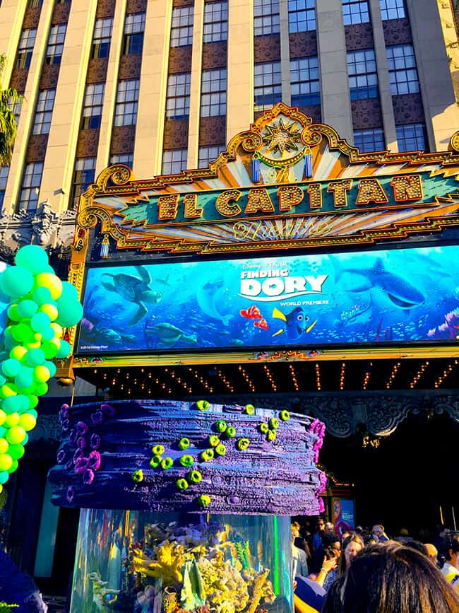 Disney's Finding Dory Premiere at the El Capitan