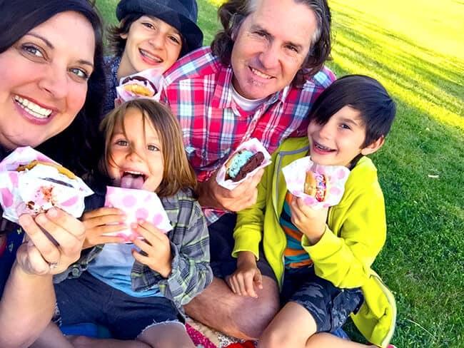 Family Ice Cream Fun
