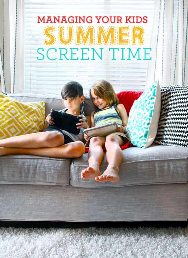 How To Manage Kids Screen Time